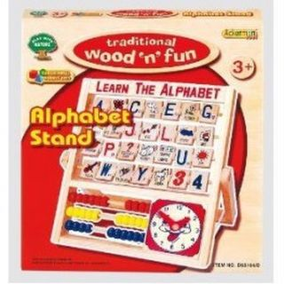 Wood 'n Fun Alphabet Stand