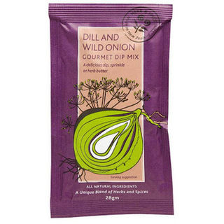 Herb & Spice Mill Dill and Wild Onion Dip 28g
