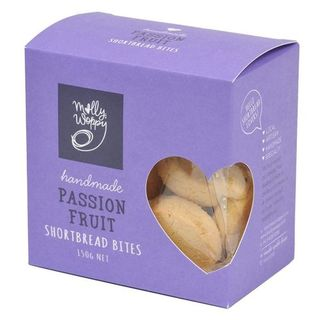 Molly Woppy Passionfruit Shortbread 150g Box