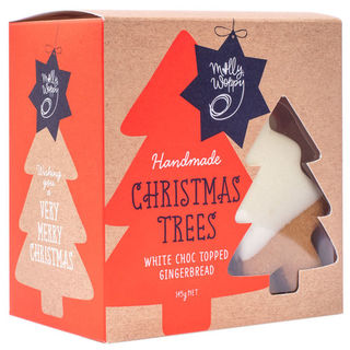 Molly Woppy Choc Topped Christmas Trees 145g Box