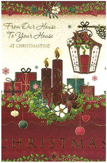 Christmas Card: From Our House To Your House