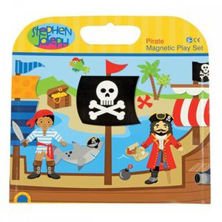 Stephen Joseph Magnetic Play Set - Pirate