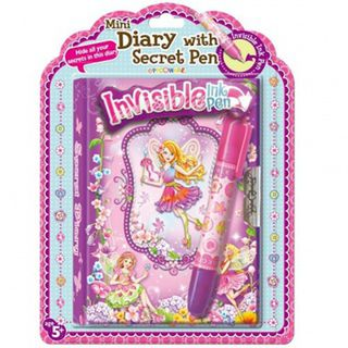 Peco Fairy Mini Diary with Secret Pen