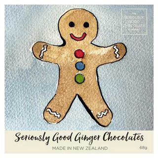 Seriously Good Chocolate Company Gingerbread Chocolates - 4 Pack