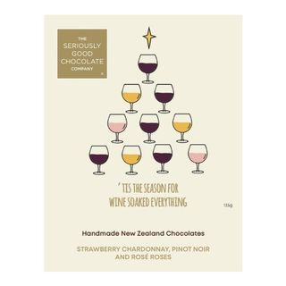 Seriously Good Chocolate Company Christmas Wine Collection Box - 9 Pack
