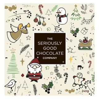 Seriously Good Chocolate Christmas Santa Box - 16 Pack