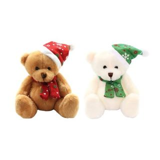 Noel Bear 20cm - Brown or Cream
