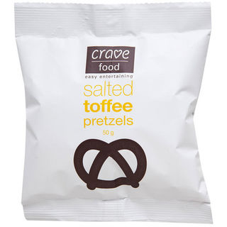 Crave Food Salted Toffee Pretzels (50g)