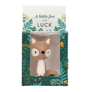 Meaningful Mini Figurine: A Little Fox for Luck