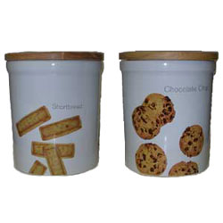 Benchmark Cookie Storage Jar Set