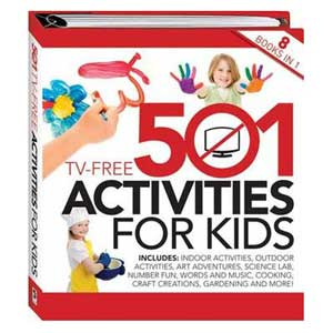 501 TV-Free Activites For Kids