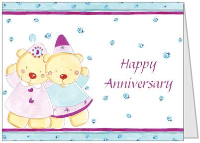 Gift Card: Happy Anniversary
