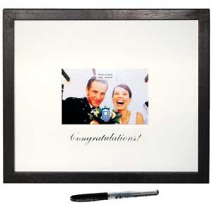 Congratulations Frame with Pen