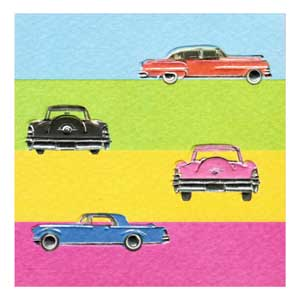 Italian Mini Gift Card - Cars