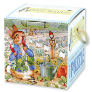 Peter Rabbit Jigsaw Puzzle Cube