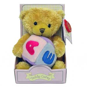 Teddy Cares Bear - ABC Bear