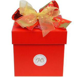 Chocolate Gourmet Gift Box (Lge) - Xmas Red