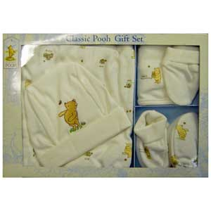 Classic Pooh 5 Piece Gift Set