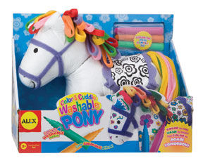 Alex Colour & Cuddle Washable Pony