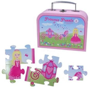 Pink Poppy Princess Puzzle in Carry Case