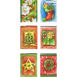 Christmas Gift Tag Assorted Designs (FREE)