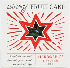 Luxury Fruit Cake 450g