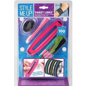 Style Me Up Sweet Links Bracelets Kit (Blue)