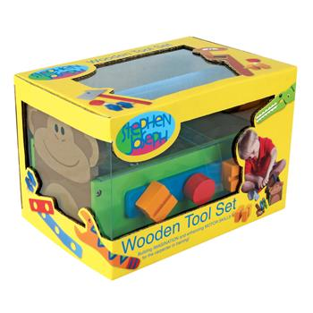Stephen Joseph Wooden Tool Set