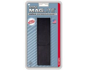 Mini Maglite AA Nylon Holster - Black