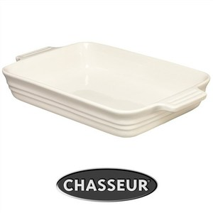 Chasseur La Cuisson Medium Rectangular Baker - Antique Cream