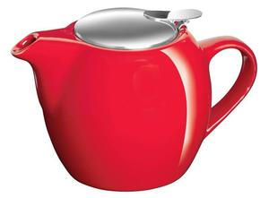 Avanti Camelia Ceramic Teapot 750ml - Fire Engine Red