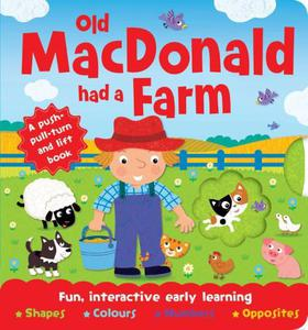 Book: Old Macdonald Push, Pull, Lift and Turn