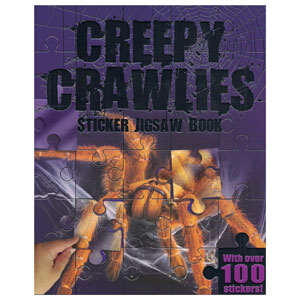 Creepy Crawlies Sticker Jigsaw Book