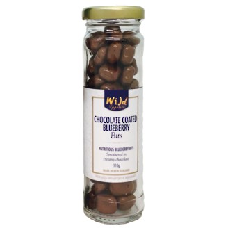 Wild Appetite Choc Coated Blueberry Bits 110g