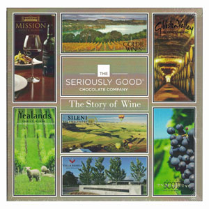 The Story of Wine As Told By Chocolate - Box of 16