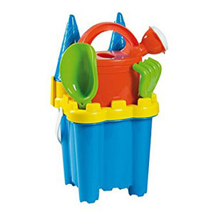 Summertime Cone Castle Bucket Set - Blue