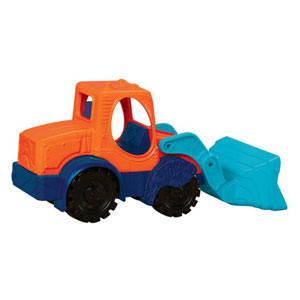 Battat Mini Excavator - Orange & Blue