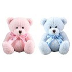 Teddytime Keegan Bear 20cm in Pink or Blue