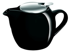 Avanti Camelia Ceramic Teapot 750ml - Pitch Black