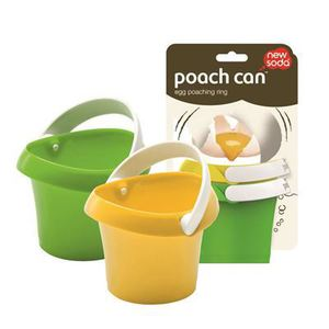 New Soda Poach Can Egg Poaching Rings - Set of 2