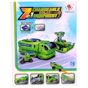 7 in 1 Changeable Solar Equipment Construction Set