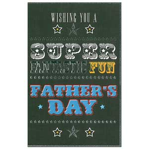 Gift Card: Fathers Day - Super, Fantastic, Fun