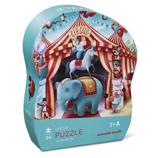 Crocodile Creek Circus Puzzle 24pc