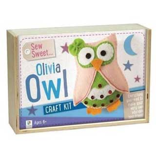 Sew Sweet Olivia Owl Craft Kit