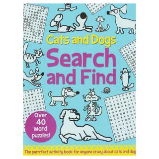 Cats and Dogs Search and Find Activity Book