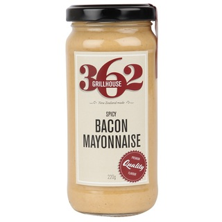 362 Grillhouse Spicy Bacon Mayonnaise 220g
