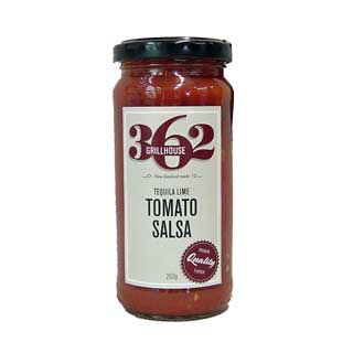 362 Grillhouse Tequila Lime Tomato Salsa 250g