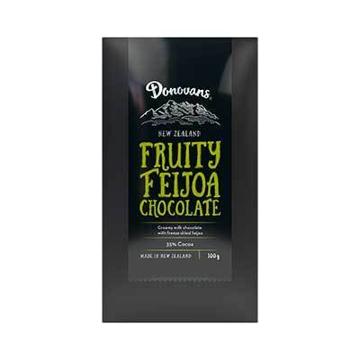 Donovans Fruity Feijoa Chocolate Bar 100g