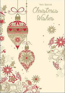 Christmas Card: Very Special Christmas Wishes
