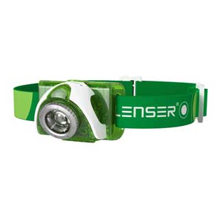 Lenser SEO 3 Headlamp - Green